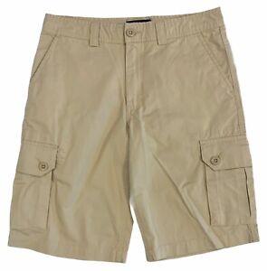 Polo Ralph Lauren Big Boy's Khaki Cargo Shorts Size 16
