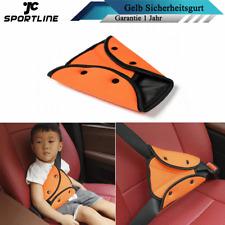 Kinder Baby Sicherheitsgurt Fixierer Gurtpolster Einsteller Auto Gurtschutz Gelb