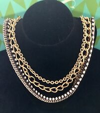 Stella & Dot Gold La Coco Necklace & La Coco Cupchain Authentic!