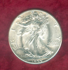1944 Walking Liberty Half Dollar in Frosted BU