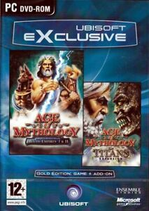 Age of Mythology Gold Edition with Titans Expansion Pack PC NEW