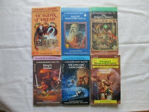 5 Endless Quest & 1 Advanced Dungeons & Dragons Choose Your Own Adventure Books!