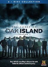 The Curse of Oak Island Complete Season 1 (DVD, 2014, 2-Disc Set) NEW