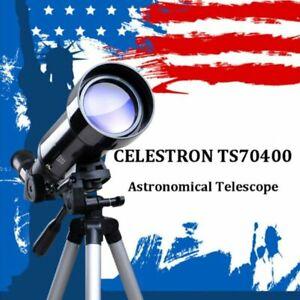 CELESTRON TS70400 Travel Terrestrial Astronomical Telescope Refractor Monocular