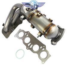 New with Catalytic Converter Exhaust Manifold for Toyota Camry Solara 02-06 2.4L