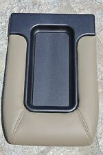 95-99 CHEVROLET C1500 C2500 C3500 TAN BEIGE CENTER CONSOLE LID STORAGE COVER