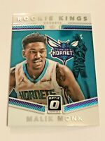 2017-18 Optic Basketball Rookie Kings - Malik Monk RC - Charlotte Hornets
