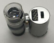 Currency Detector and 60x Microscope great for inspecting coins!