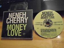 RARE PROMO Neneh Cherry CD single Money Love rap REMIX Paul Oakenfold + extended