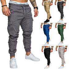 REPUBLIX Herren Cargo Jogger Jeans Chino Hose Pants Mit Stretch R0701