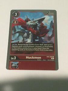 BT6-009  HUCKMON  - Rare - Digimon TCG!