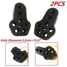 2PCS 12mm 8 Holes Car Rubber Exhaust Tail Pipe Mount Bracket Hanger Insulator