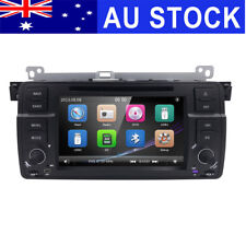 "7"" Head Unit GPS NAV Car DVD Stereo Player Bluetooth Built-in for BMW E46"