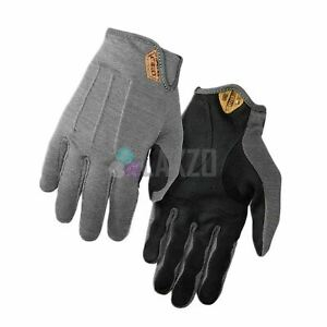 Cycling Gloves Full Finger Giro D'Wool Mtb/Gravel 2018 Titanium 2XL Thermal