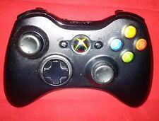 1ST PARTY Official XBOX 360 WIRELESS CONTROLLER - Black BEST CONTROLLER oem