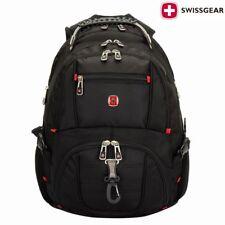 Zaino da viaggio nero 15,6' Swiss Gear zaino Computer portatile scuola collettor