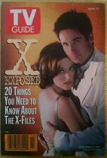 TV Guide April 6-12, 1996 Volume 44 #14 The X-Files X Exposed article
