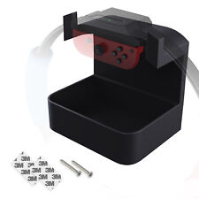 Wall Mount Holder for Nintendo Switch Ring Fit, with Accessory Shelf and Bracket