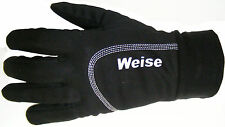 Weise Tex Black Fleece Lined Thermal Windproof Base Under Gloves Bargain!!