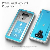 360°Protective Case For LG G6 / G6 Plus (2017) Shockproof Cover Blue