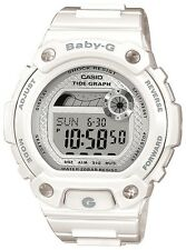 Casio Womens Baby G G Lide Tide Graph White Watch BLX100-7 Free Shipping