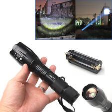 5 Modes 2000 Lumen XML T6 LED Zoomable Flashlight Focus Torch 18650/3 AAA Type