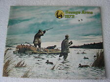 SAVAGE FIREARMS 1973 GUN CATALOG TOM HENNESSEY COVER ART