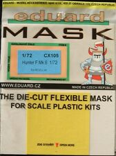 Eduard 1/72 CX105 Canopy Mask for the Revell Hawker Hunter F Mk 6