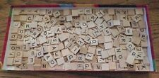 375 WOODEN SCRABBLE TILES FOR CRAFTS OR SCRAPBOOKING