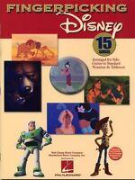 Fingerpicking Disney SONGS Learn to Play Finger Picking Guitar TAB Music Book