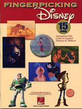 Fingerpicking Disney SONGS Learn to Play Finger Picking Guitar TAB Music Book
