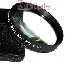 52mm Macro +10 Close-Up Lens Filter No.10 For DSLR SLR Film Digital Movie Camera