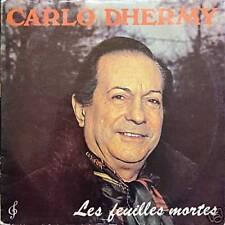 CARLO DHERMY Les Feuilles Mortes FR Press 33 Rpm