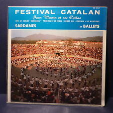 JUAN MORATA et ses coblas Festival catalan Sardanes et ballets ds 30-01