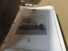 NEW HOLLAND DC75 DC85 DC95 CRAWLER SERVICE / REPAIR MANUAL