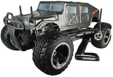 FS RC MEGA CARBON MONSTER HUMMER TRUCK 30ccm 3PS 80Km/h 1:5 77cm BENZIN 2.4Ghz