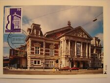 (NL1372) AMSTERDAM CONCERTGEBOUW 1988 NETHERLANDS maximum maxi card postcard