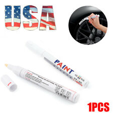 Tire Permanent WHITE Paint Markers Pen Lettering Rubber White Wall Side Oil