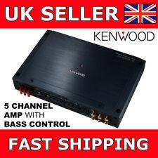 Kenwood XH901-5 Car/Van Amp Class D 5 Channel Power Amplifier 60W x 4 + 400W x 1