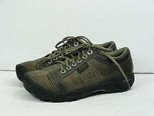 Keen Men's Classic Casual Hiking Trail Brown Leather Shoes Size 8