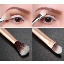 TRUCCO occhi polvere a doppia estremità Brush Foundation Eyeshadow Blending Brush Pen UK