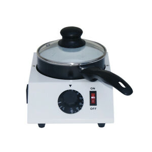 110V White Electric Chocolate Melting Machine Chocolate Melter Single One Pot
