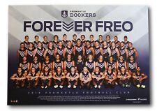 2016 Fremantle Dockers Football Club Official Team Poster Print