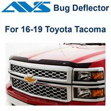 AVS Fits 16-2019 Toyota Tacoma Aeroskin Matte Black Hood/Bug Protector 377079