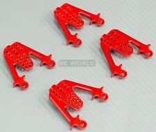 For Axial SCX10 Jeep Honcho METAL SHOCK TOWER LIFT BRACKET MOUNTS Set (4) RED