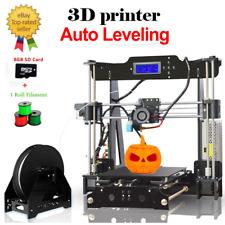 P802MA 3D Printer Off-line Printing Auto Leveling Acrylic Frame Reprap Prusa i3