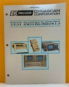 B+K Precision / Dynascan 1985 Test Instruments Catalog.