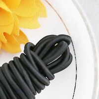 Elastic Cord Round Black 55 yd x 3mm great for sewing, crafts & buttonhole loops