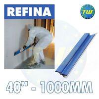 "REFINA 40"" 1000mm Finishing Spatula 0.6mm Stiff Stainless Steel Flattening Blade"