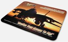 Mouse Pad: F14 Tomcat Sunrise - USAF, Navy, Army, Carrier -- By PC Aviator Print